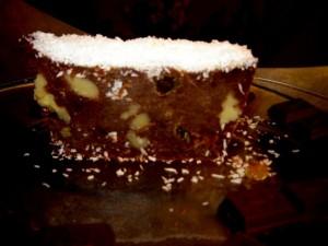 שוקולד - עוגת שוקולד והפתעות-קפואה (שיש)