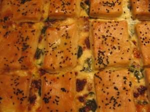 מאפה גבינות סגור בטעמים שונים