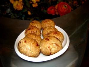 עוגיות טחינה קוקוס ופקאן