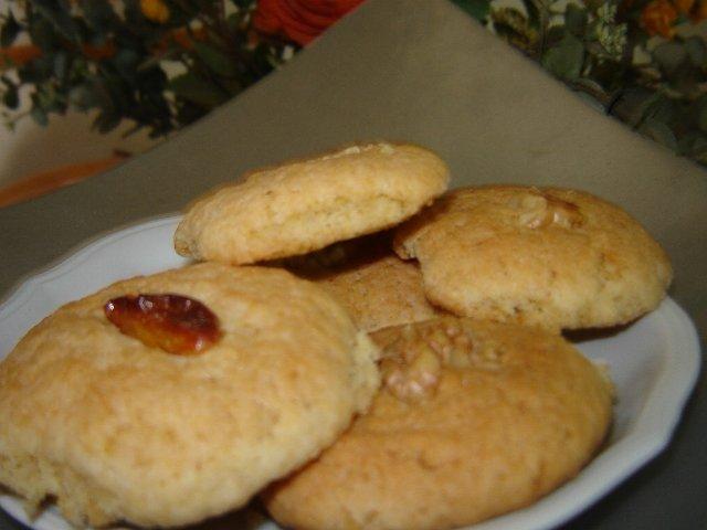 עוגיות אגוזים וקוניאק