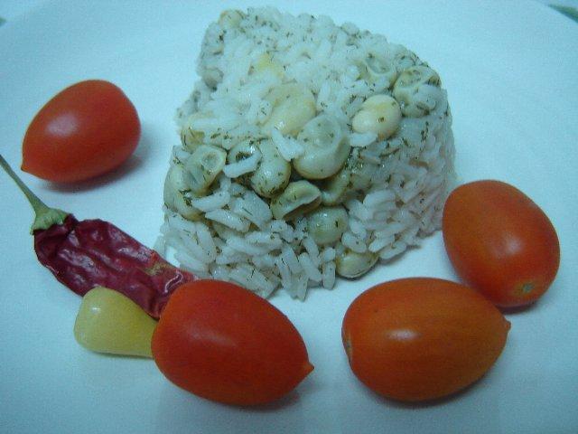 d790d795d7a8d796 d7a4d795d79c - אורז עם פול ירוק