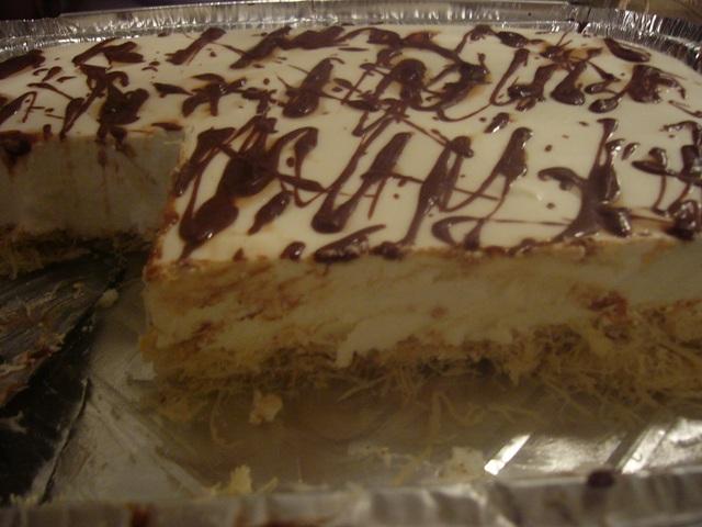 d791d795d795d790d7a8d799d794effyba - עוגת קרם גבינה בוואריה על בסיס קדאיף