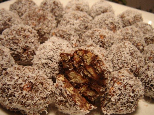 כדורי פרג שוקולד ואגוז מתוק