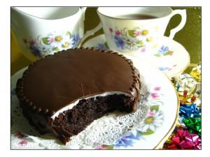 עוגת שוקולד מנטה
