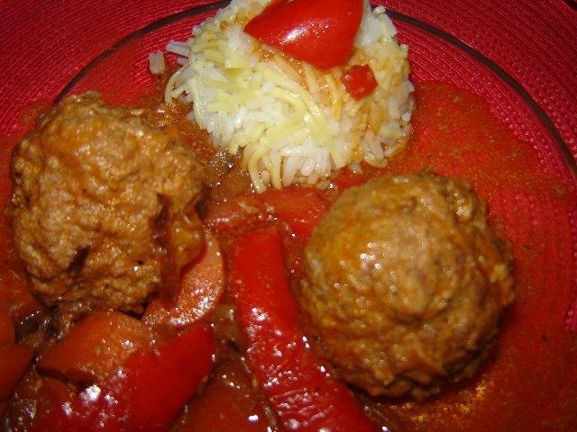 כדורי בשר במייפל וחרדל