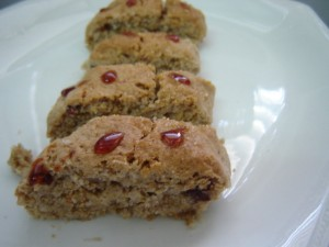 עוגיות שומשום וצימוקים