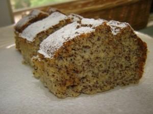 עוגת פרג נפלאה עדינת טעמים ורכות