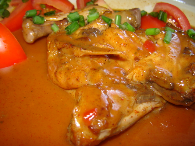 d7a9d792d791 d7aad7a4d795d7965 - סטייק כרעי עוף ברוטב תפוזים סילאני