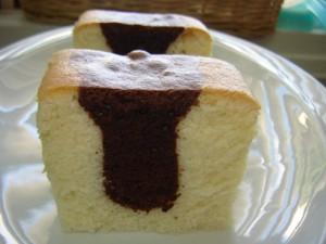 עוגת שיש רכה מאד על בסיס מים