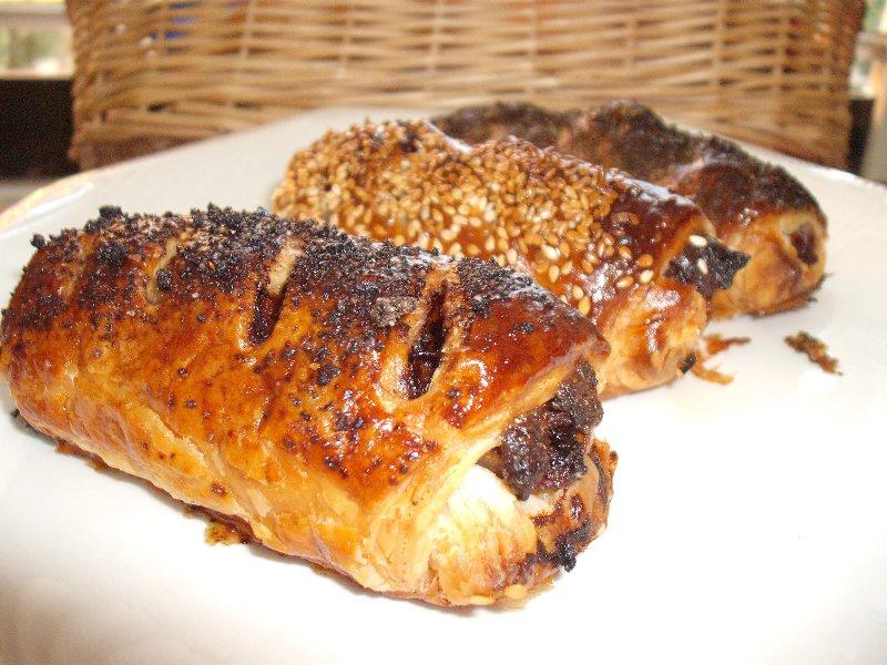 חציל - בורקס בשר וחצילים (גלילוניות)