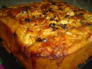 עוגת פירות יבשים-גבוהה