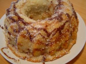 עוגת קוקוס על בסיס מים
