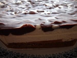 עוגת קרמבו מרציפן שוקולד- גם לפסח