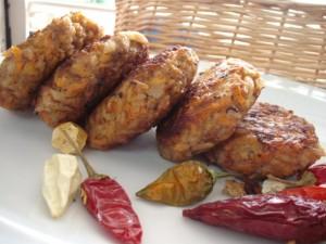 קציצות ירקות בשר ואורז