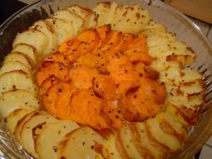 גארטן תפוחי אדמה ובטטה