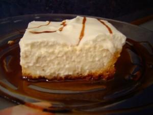 עוגת גבינה עם דבש