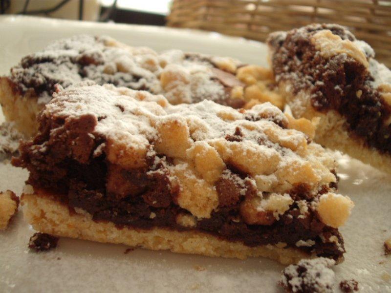 d7a1d7a0d799d7a7d7a8d7a1 800x600 - עוגת מוס שוקולד סניקרס – אפויה