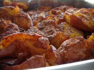 תפוחי אדמה מעוכים בטעם של עוד