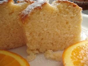 עוגת שמנת תפוזים
