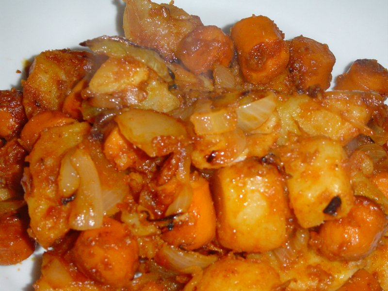 טבעול ותפוחי - ארוחת שאריות פשוטה ונפלאה