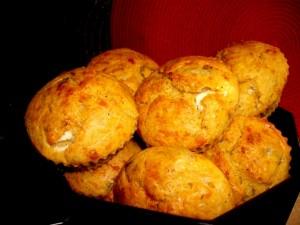 מאפינס תפוחי אדמה גבינות ותרד