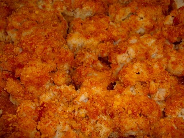 dscf7615 - כרובית מעוכה וזהובה בתנור