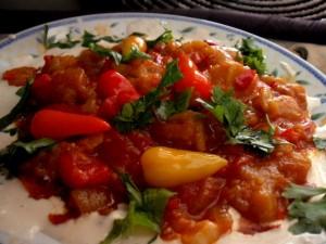 סלט ירקות חם/קר