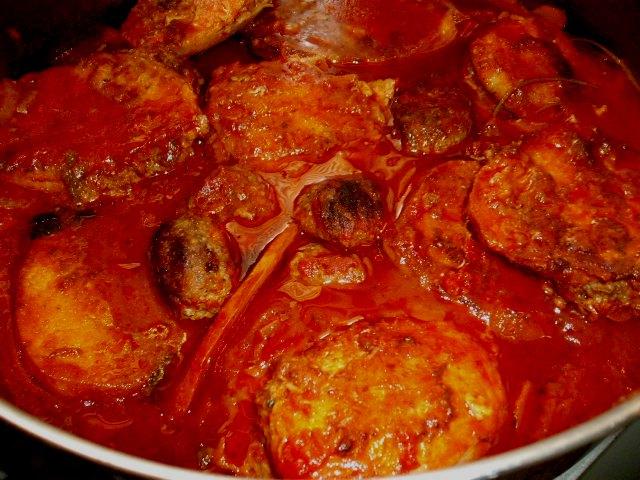 dscf77421 - תבשיל חצילים ובשר