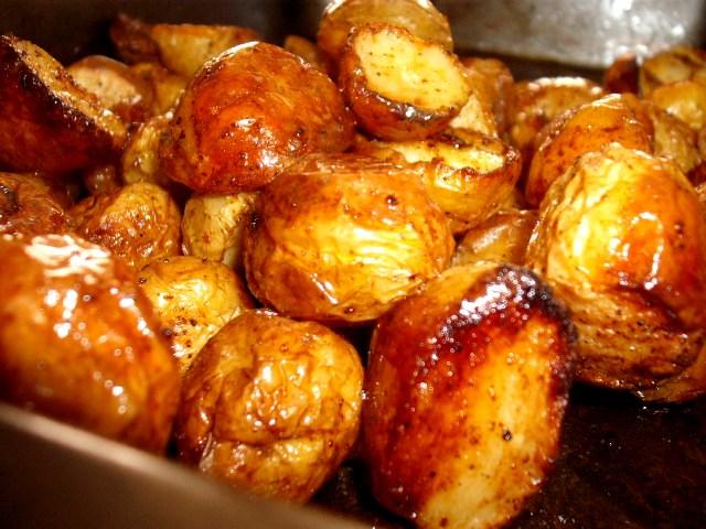 שלמים בשמן זית - תפוחי אדמה בדבש וחרדל