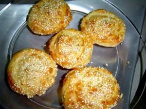 שבלולי גבינה בניחוח שקדים