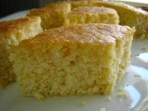 עוגת סולת חלבית