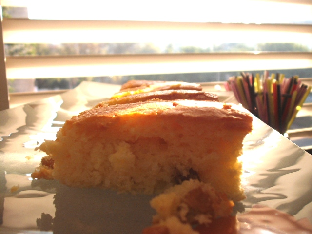 DSCF8227 - עוגת מיץ עם גבינה וסירופ תפוזים