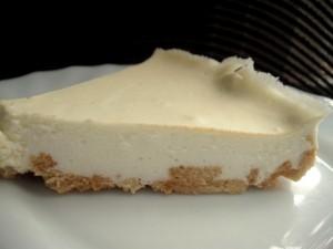 עוגת גבינה קרה ללא סוכר