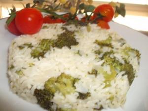 אורז ברוקולי-פירגה