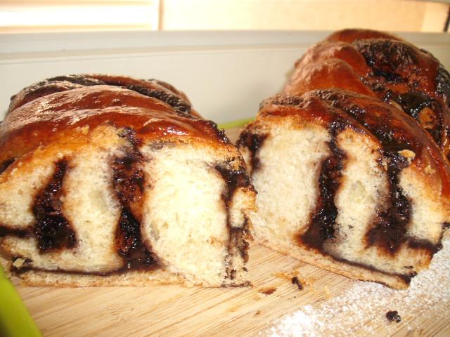 DSCF8547 - עוגת שמרים שוקולדה מופחת סוכר
