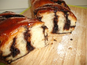 עוגת שמרים שוקולדה בלי סוכר