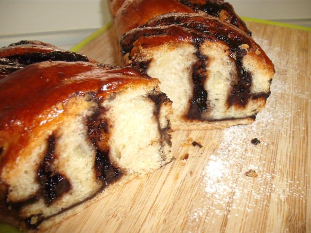 dscf8548 - עוגת שמרים שוקולדה בלי סוכר
