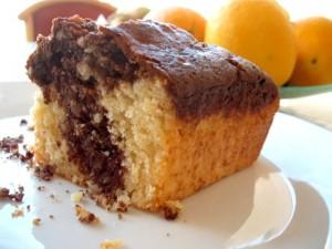 עוגת שיש שקדים לוטוס