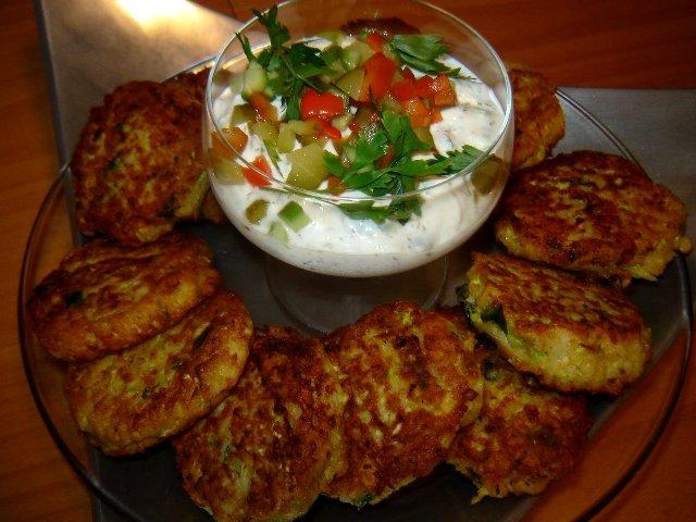 קישואי ותפוחי - לביבות קישואים עם תפוחי אדמה