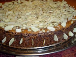 עוגת פרג עם שוקולד כמו בקונדיטוריה