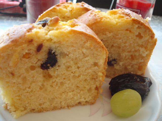 dscf8908 - עוגת תפוזים עם שזיפים שחורים