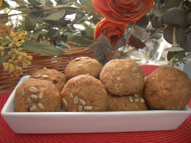 dscf2119 - עוגיות גרנולה עם דבש