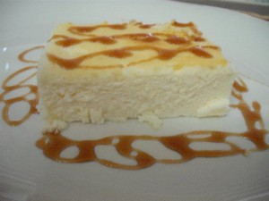 עוגת גבינת שמנת 5% בניחוח לימוני