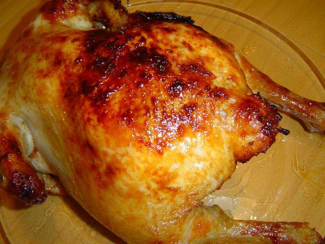 מייפל - עוף לימוני עם רוזמרין, מייפל ושום