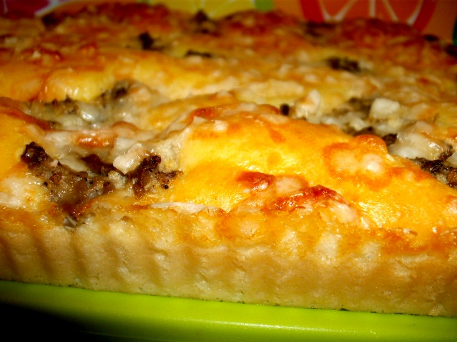 dscf8446 - פשטידת גבינה במלית חצילים בטעם כבד