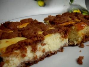 עוגת גבינה שוקולית