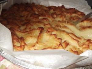 מאפה אטריות סבתא עם קינמון ורסק תפוחים