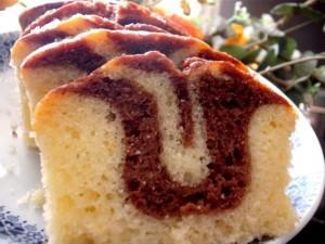 עוגת שיש לימונית