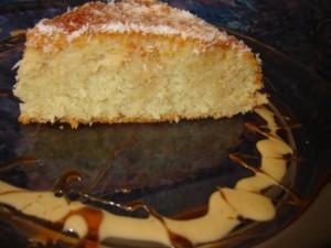 עוגת קוקוס לימון