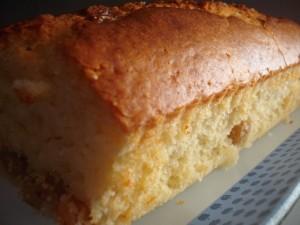 עוגת לימון שמנת וצימוקים פרווה